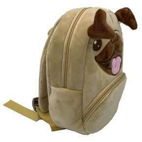 Kids Novelty Pug Rucksack Bag