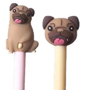 Pug Topper Pens - Previously £3