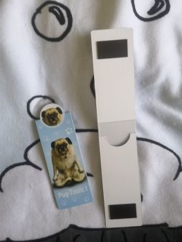 Yoga Pug Bookmark