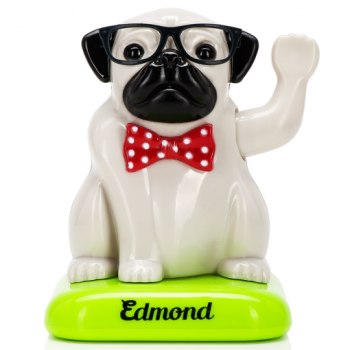 Edmond Waving Solar Pug