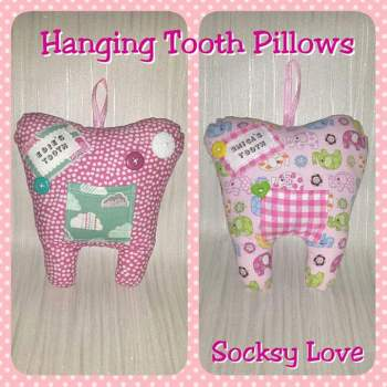 * Custom Tooth Pillow