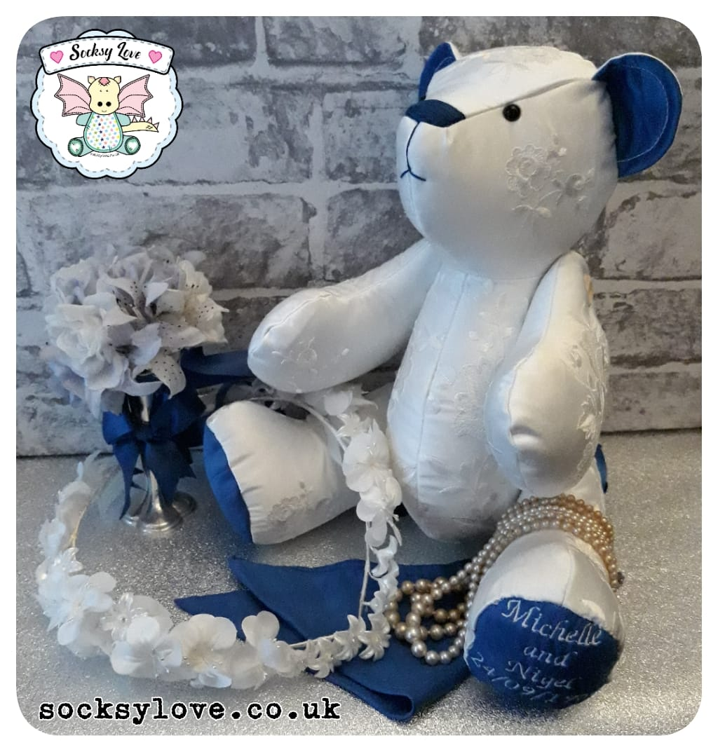 Button Jointed Bear Keepsake