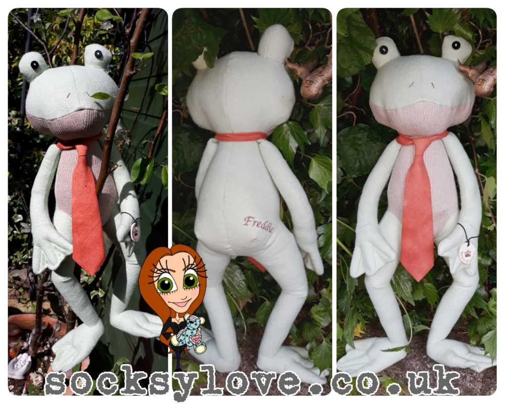 Mr (or Mrs) Frog Keepsake