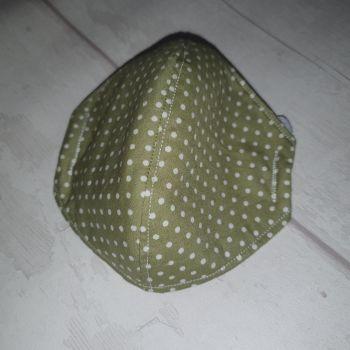 Round Face Mask - Sage (Adult)