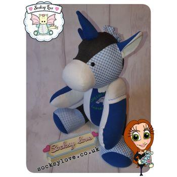 Button Jointed Unicorn Keepsake