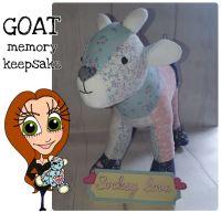 Goat Keepsake