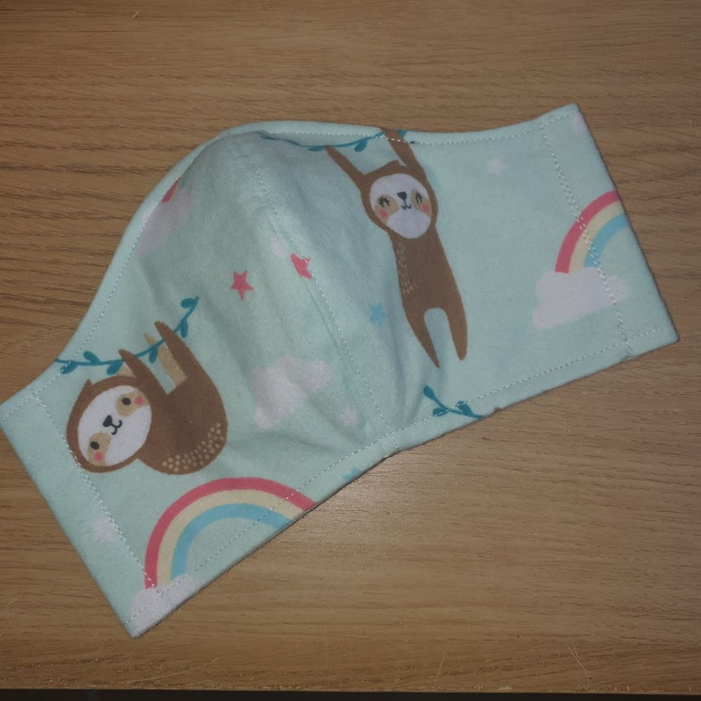 Ninja Style Face Mask - Sloth (Child)