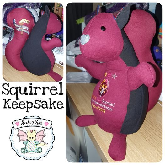 Squirrel Keepsake