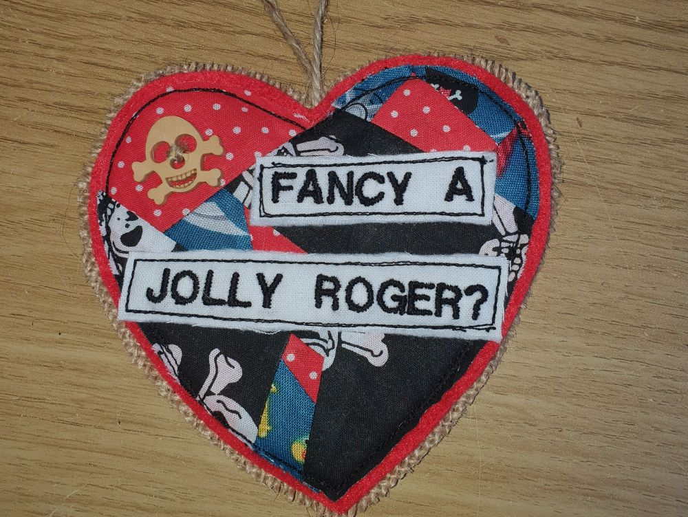 Jolly Roger Heart