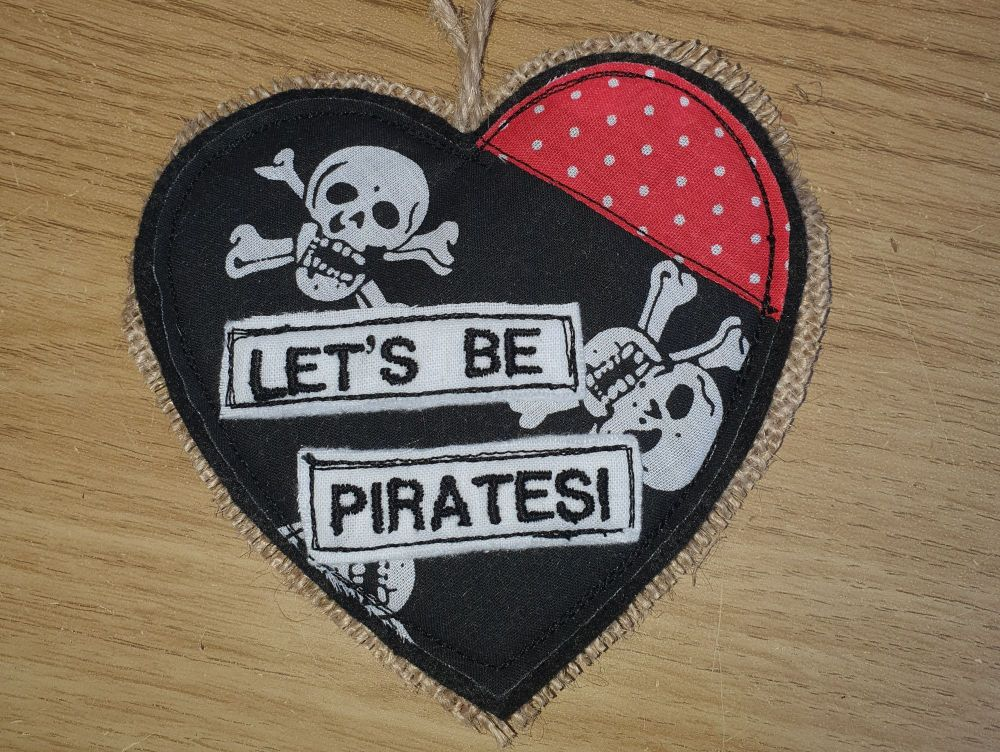 Let's Be Pirates Heart