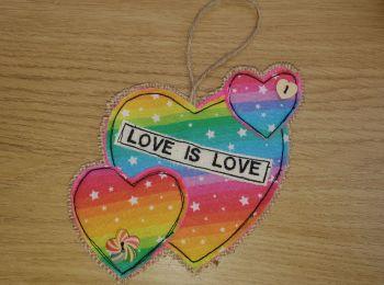Love is Love Heart (swirl)