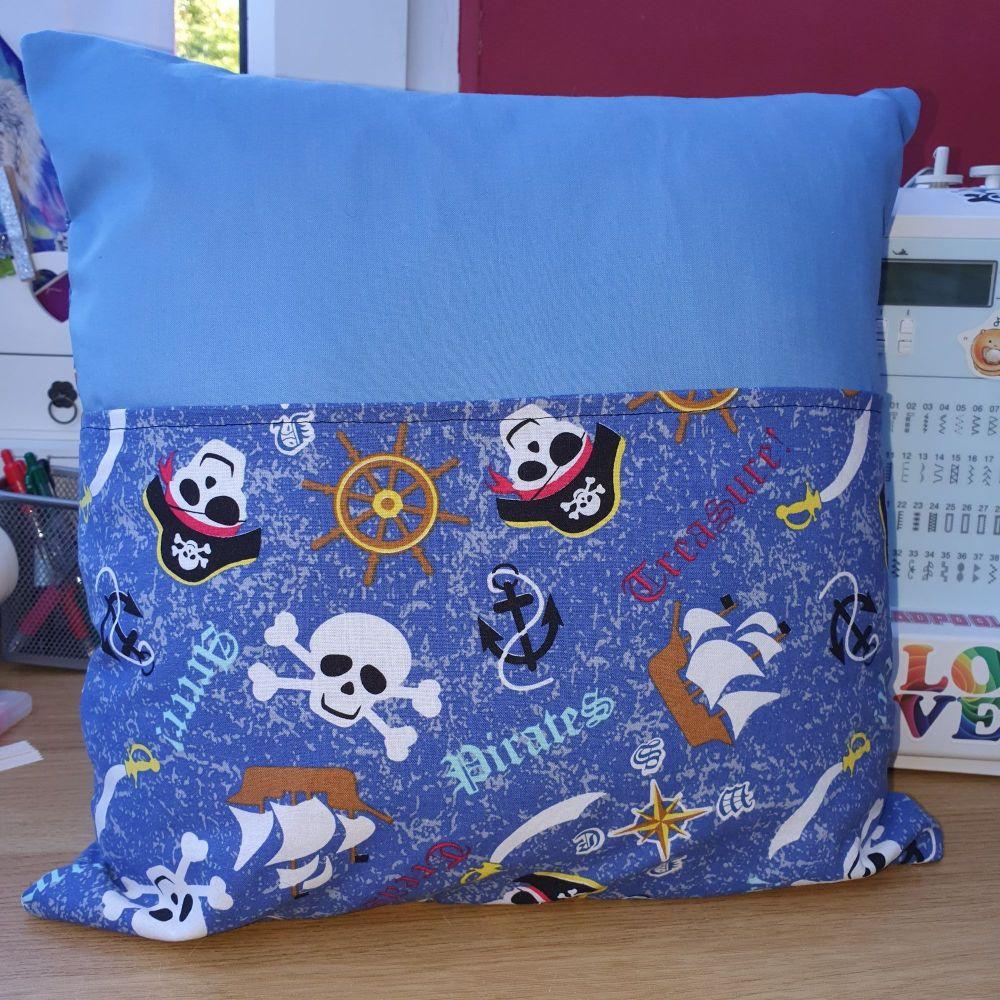 Pirate Book Cushion