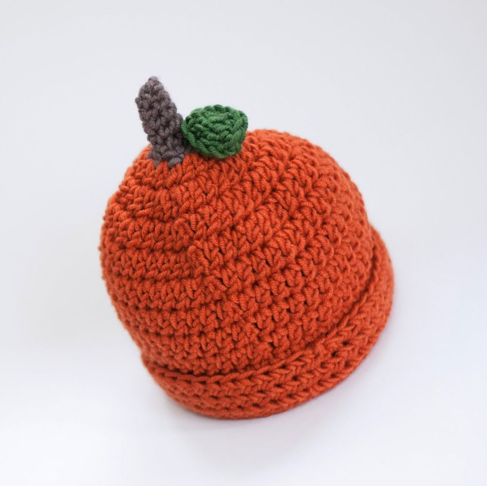 Baby and Toddler Pumpkin Hat