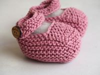 Pink  Vintage Mary Jane Booties