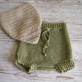 Pebble shorts in olive
