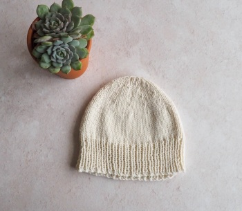 Camber beanie in cream