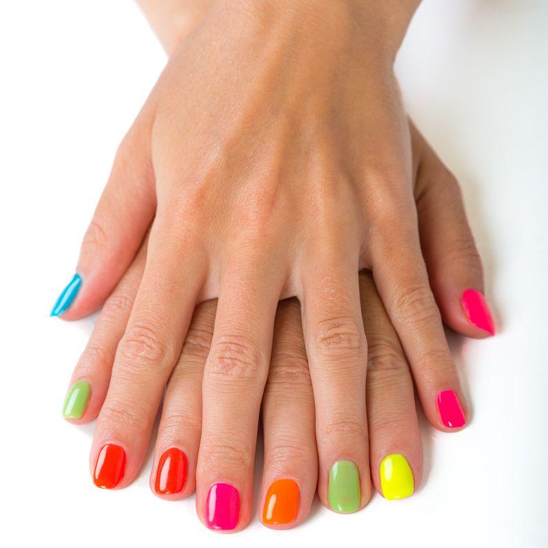 Dry manicure & Uv Gel polish - Online