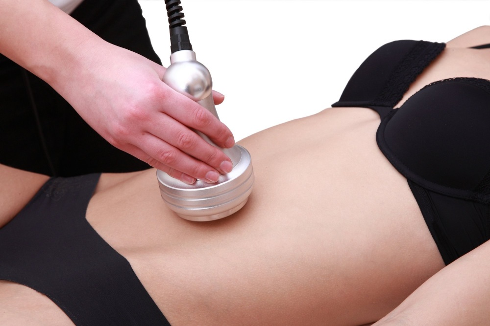 Ultrasonic cavitation and radio frequency