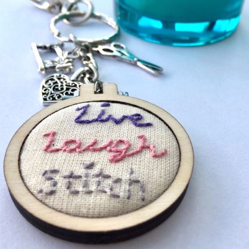 Sewing Keyring/Bag Charm - JustSewHelen.com