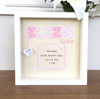 Baby Name Remembrance Picture