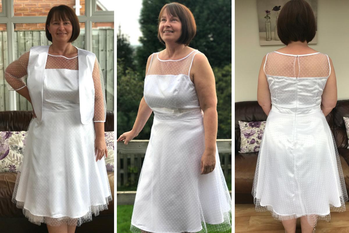 Dresses Just Sew Helen #SimplicityTurns90