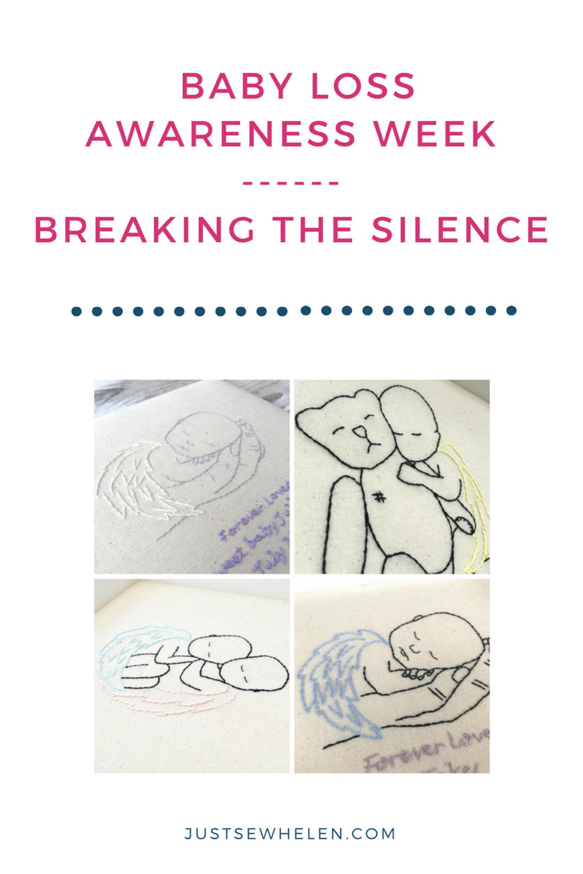 Breaking the silence - Baby Loss Awareness Week