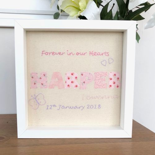 Baby Loss Remembrance Picture - JustSewHelen.com