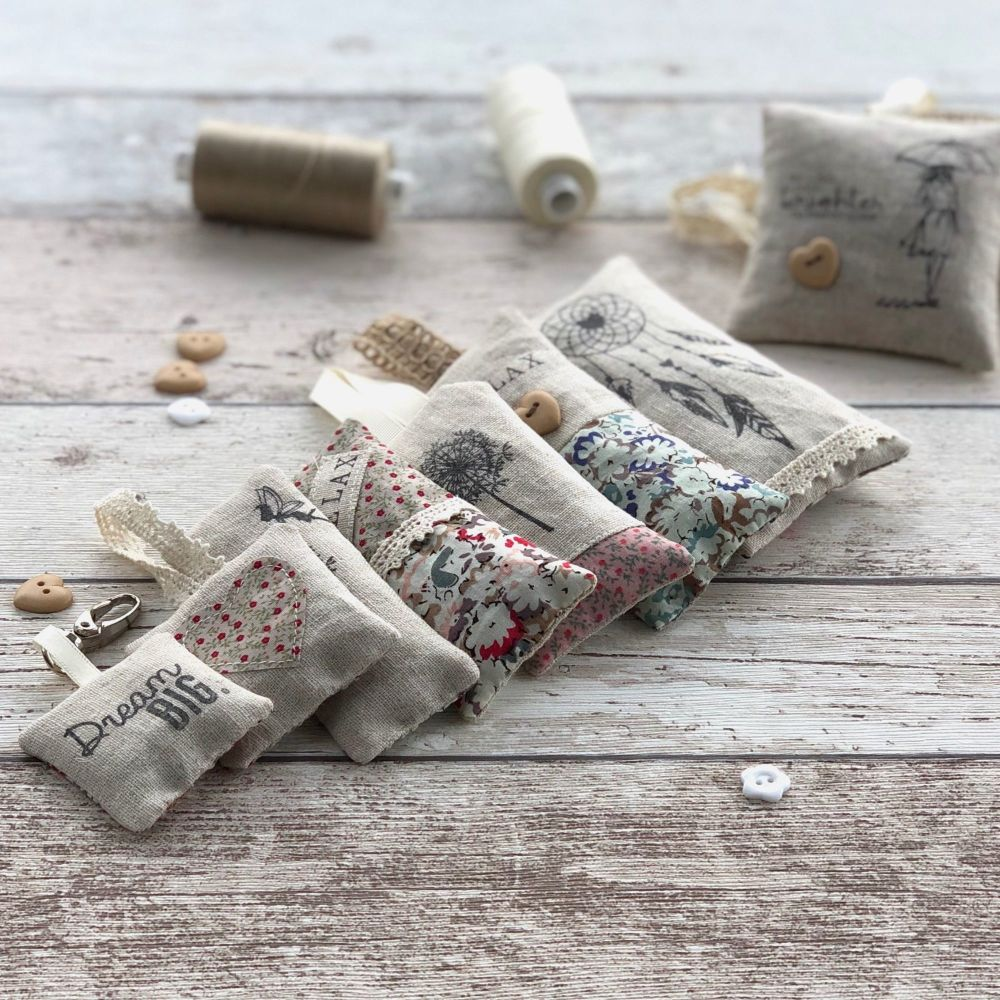 Selection of lavender pouches by JustSewHelen