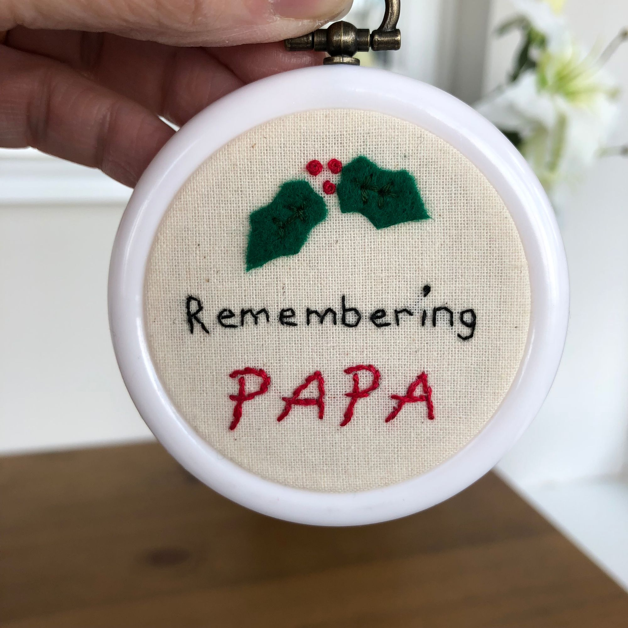 Remembering Papa at Christmas