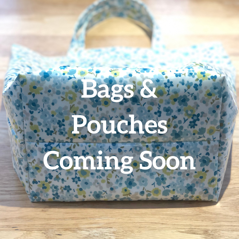 Bags & Pouches Coming Soon