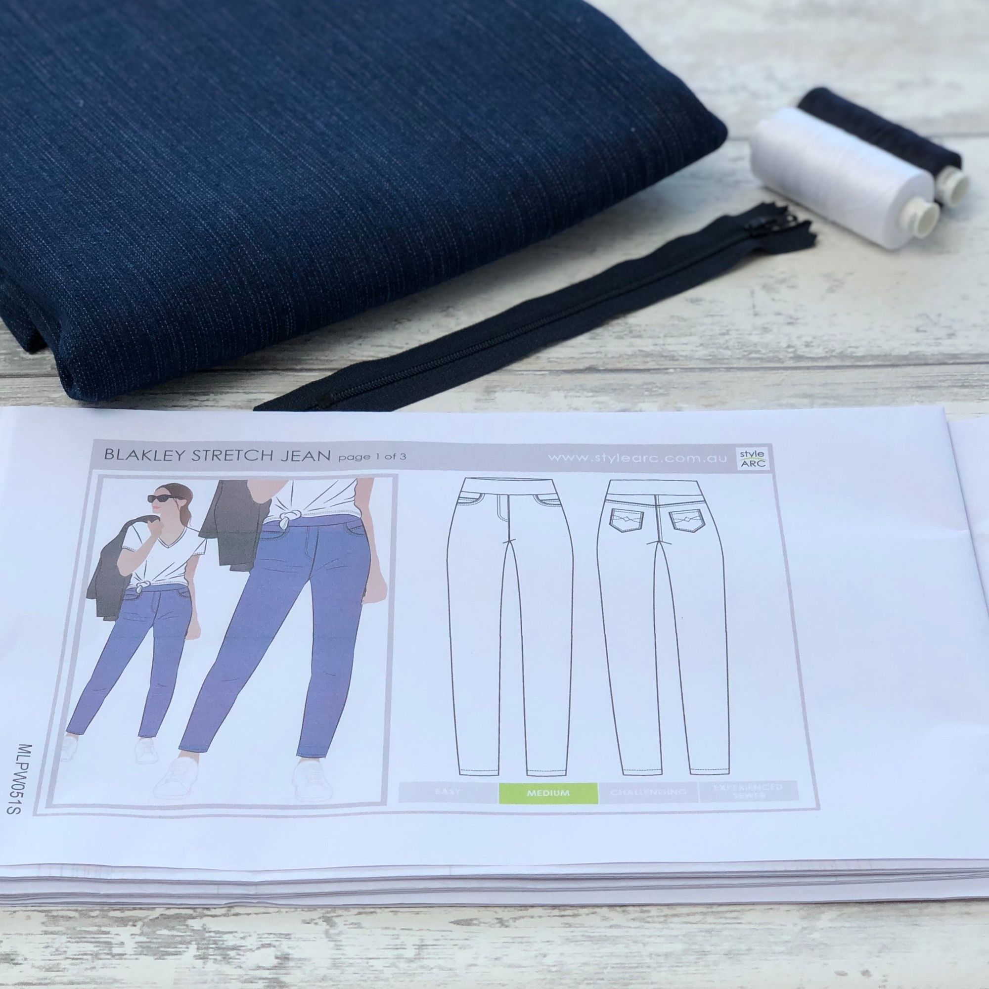 Latest post on the Minerva Blogger Network - Blakley Style Arc Jeans
