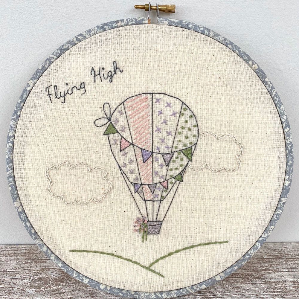 Balloon Embroidery Sampler