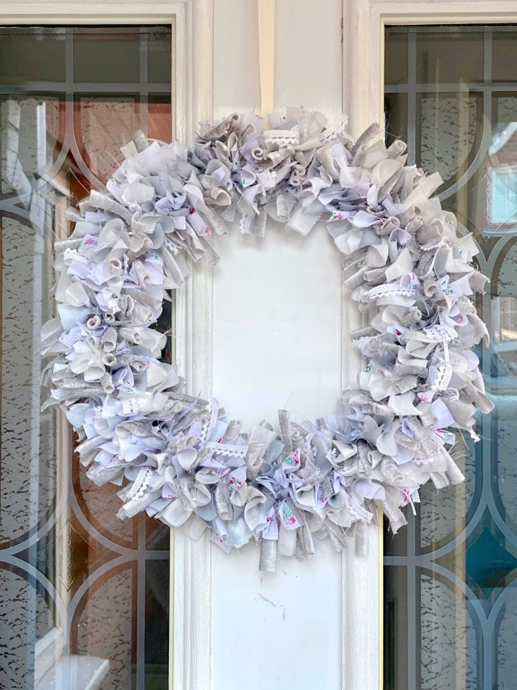 Fabric Door wreath