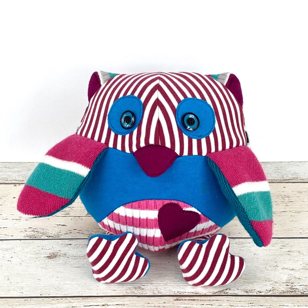 <!--002-->Memory Bear - Scrappy Owl