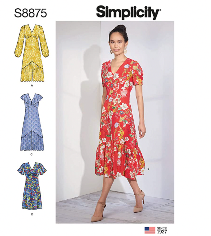 Simplicity S8875 pattern front