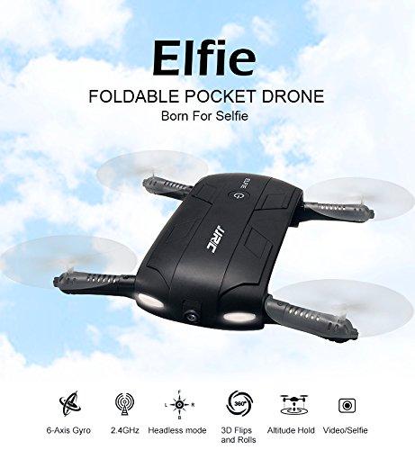 cheap foldable selfie drone JJRC H37 Elfie