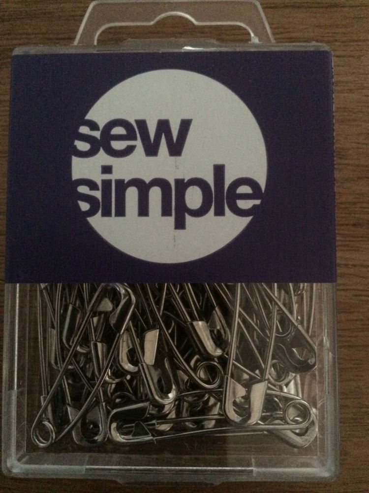 Sew Simple 38mm Curved Basting Pins (Size 2)
