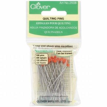 Clover Quilting Pins 0.6mm x L48mm