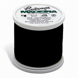 Madeira Cotona No. 30 Premium Quilting Thread - 200 m - Black