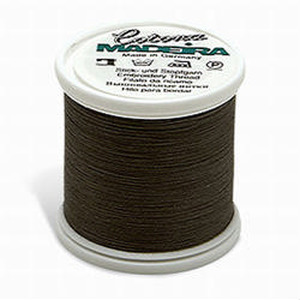 Madeira Cotona No. 30 Premium Quilting Thread - 200 m - Dark Grey