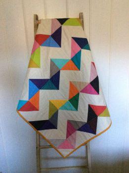 Baby Quilt - Moda - Dottie Charm Packs