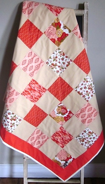 Baby Quilt - Moda - Nomad Floral  Layer Cake