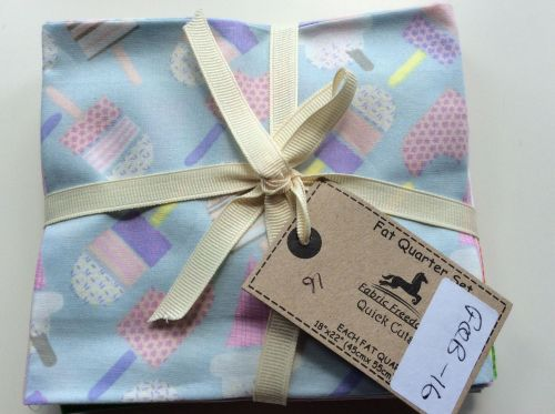 Fabric Freedom Fat Quarter Set - Ice Lollies