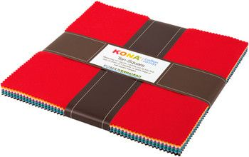 Robert Kaufman Kona® Cotton - Ten Squares - 30's Palette