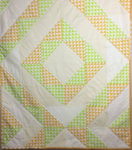 Baby Quilt - Diamond Dreams - Je Ne Sais Geometric