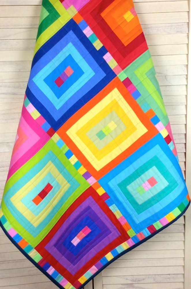 Bright Palette Baby Quilt/Play Mat