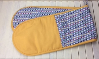 Oven Gloves (Multi-coloured - yellow)