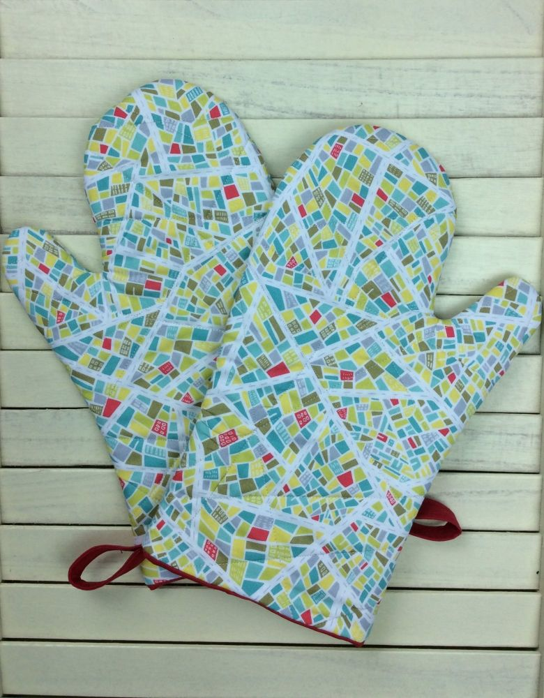 Oven Mitts (Street Map)