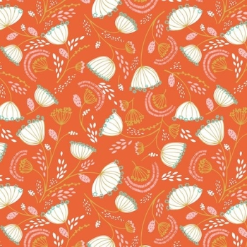 Dashwood Studio - Cuckoo's Calling Floral Orange