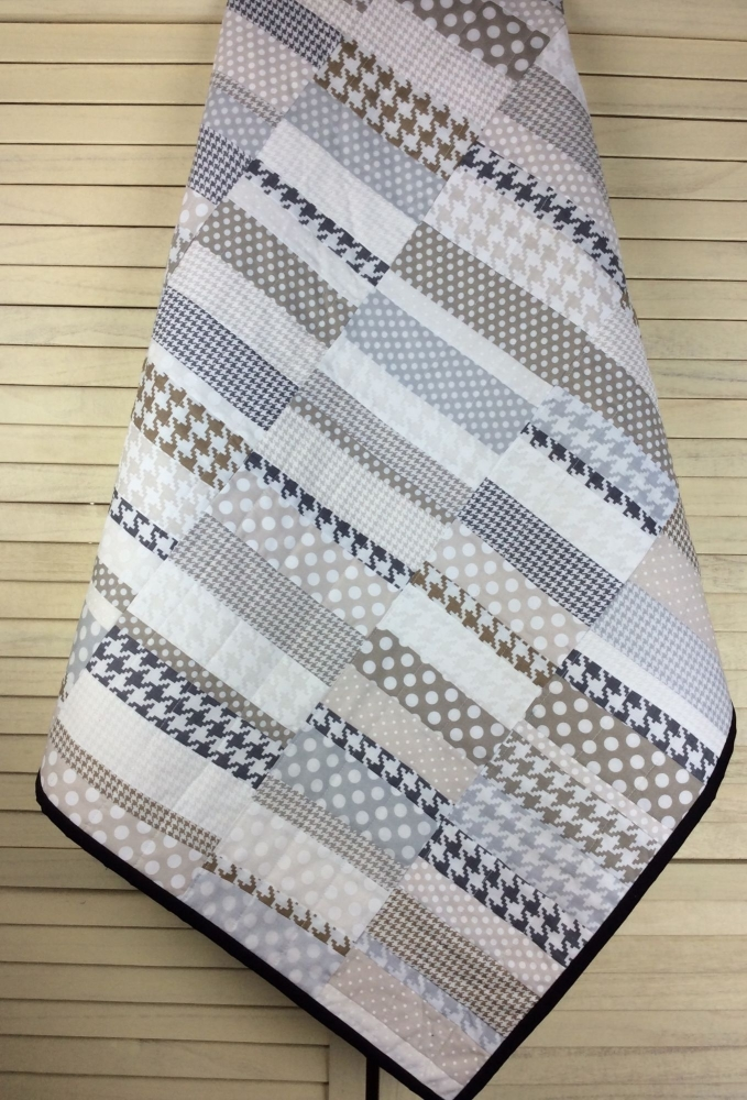 Michael Miller Scrappy Small Cot Quilt